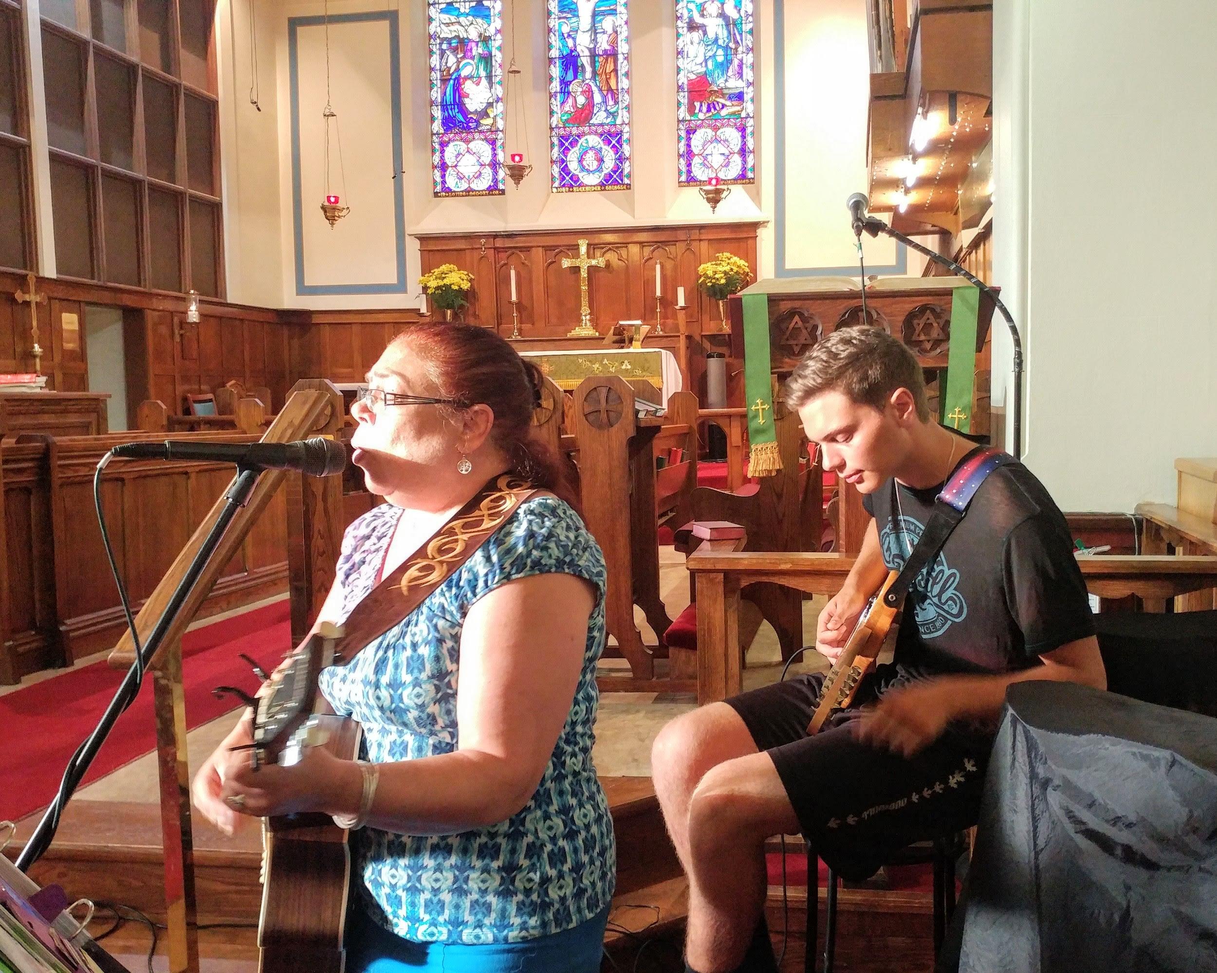 Praise Team Rehearsal