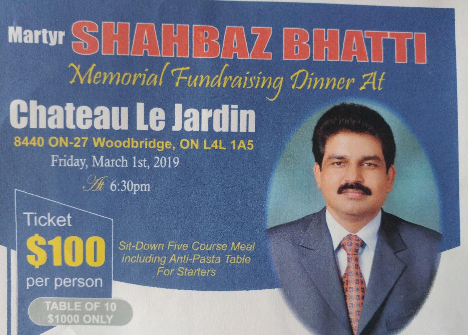 Martyr Shahbaz Bhatti.Mar 01 19