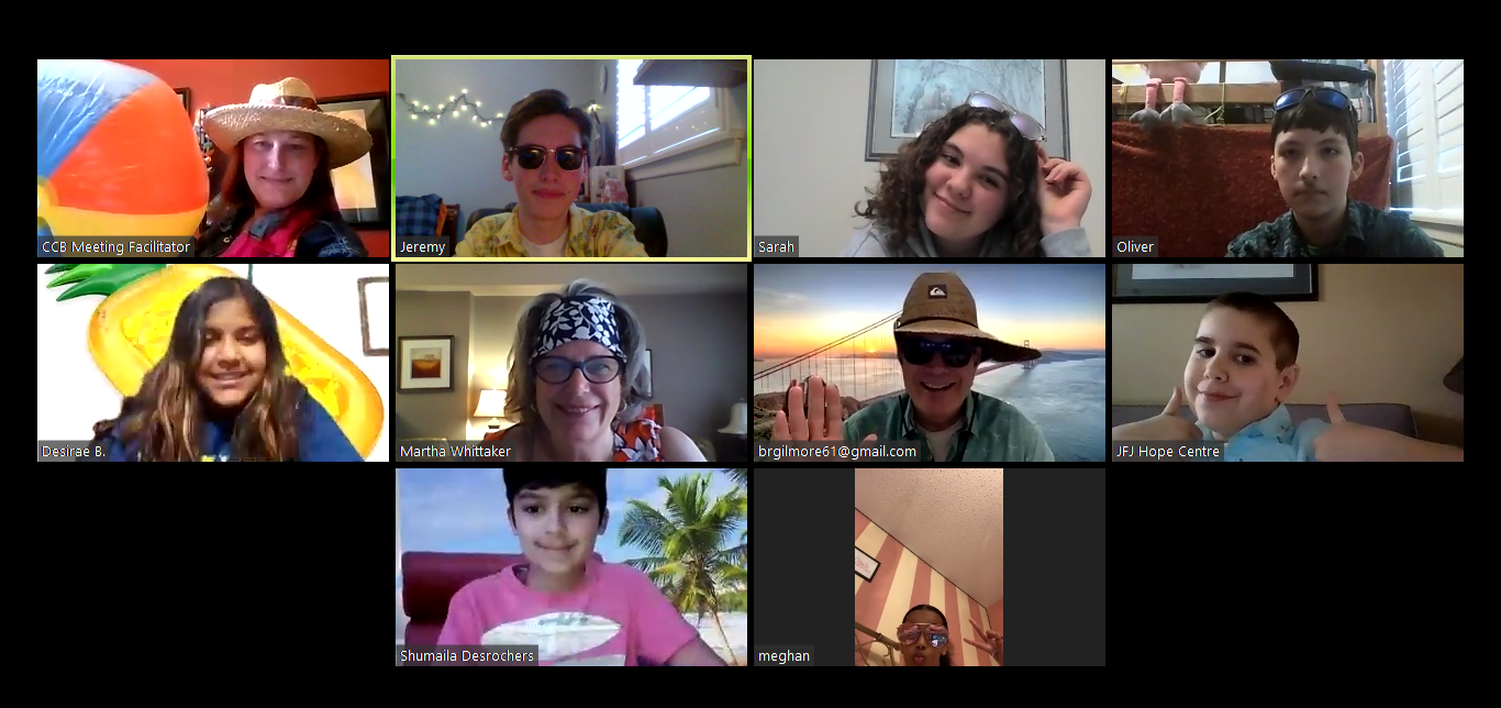 Youth Group on Zoom