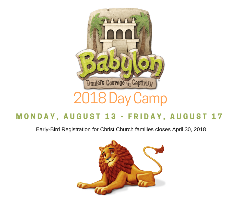 2018 Day Camp FB Post