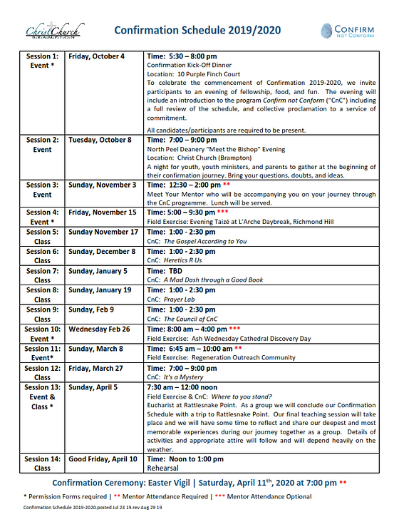 Confirmation Schedule 2019-2020.posted J