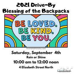 2021 Blessing of Back Packs Inst.Aug 18 21