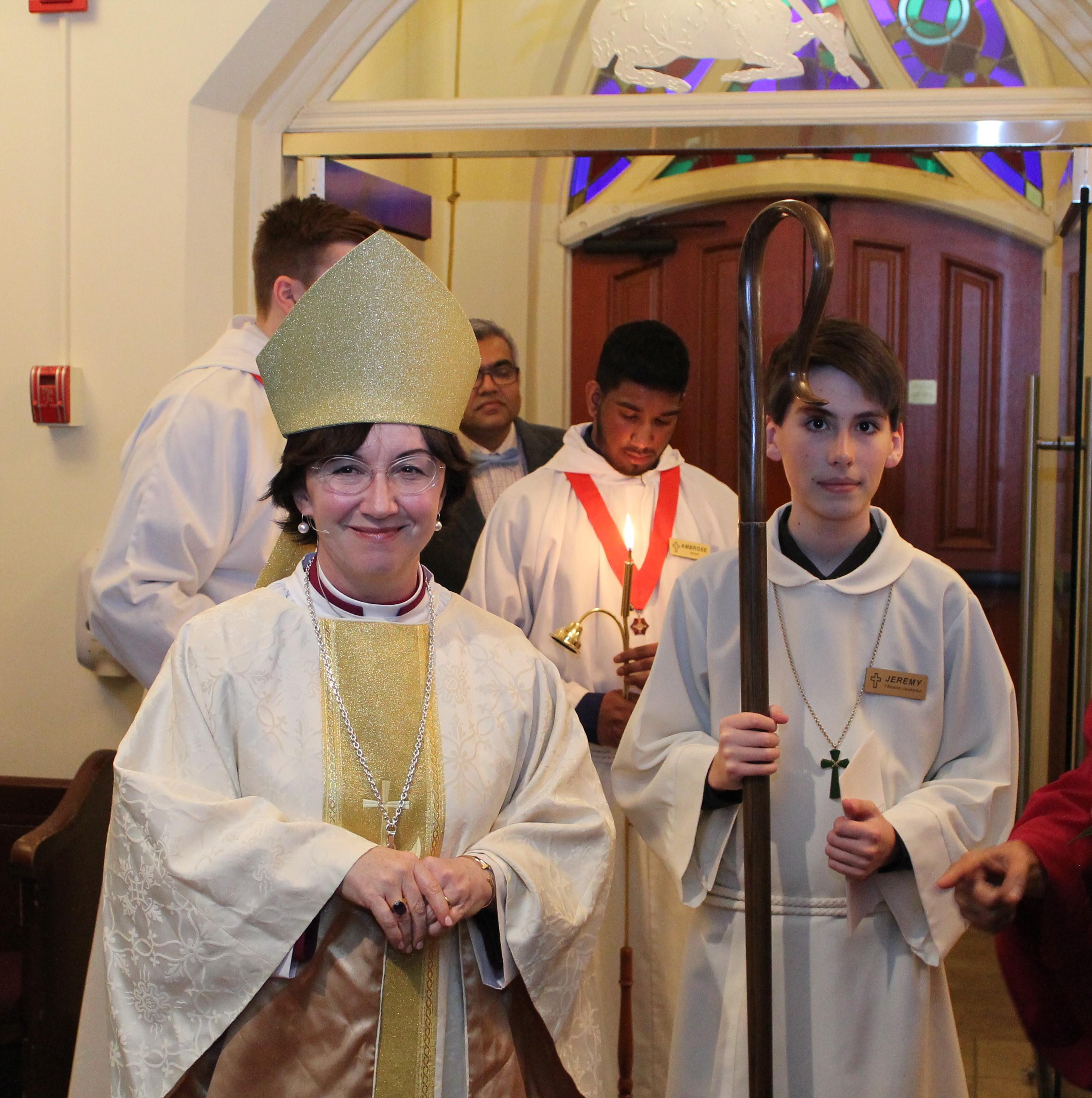 The Bishop & the Chaplain