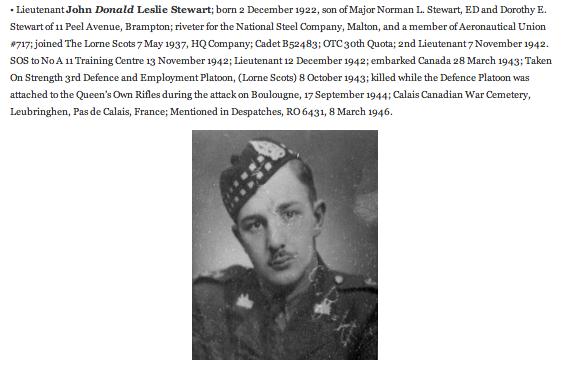 John Donald Leslie Stewart