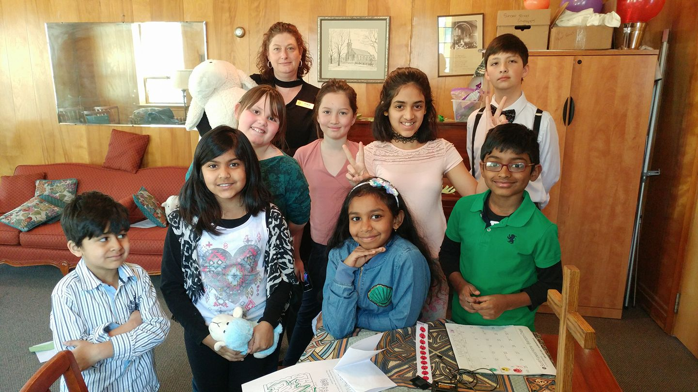 Sunday School.Mar 18 18
