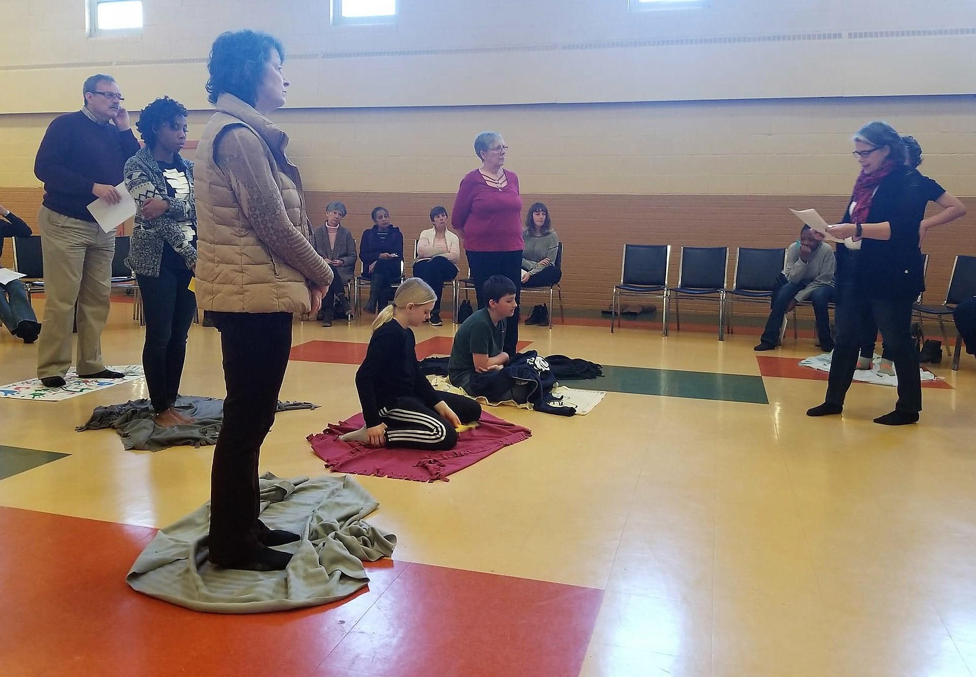 Blanket Exercise 16.Mar 03 18