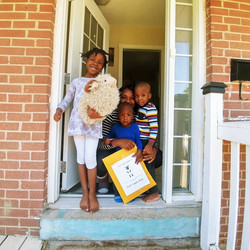 Thursday School deliveries provided a safe visit