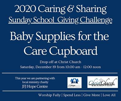 2020 Caring & Sharing Sunday School.Nov