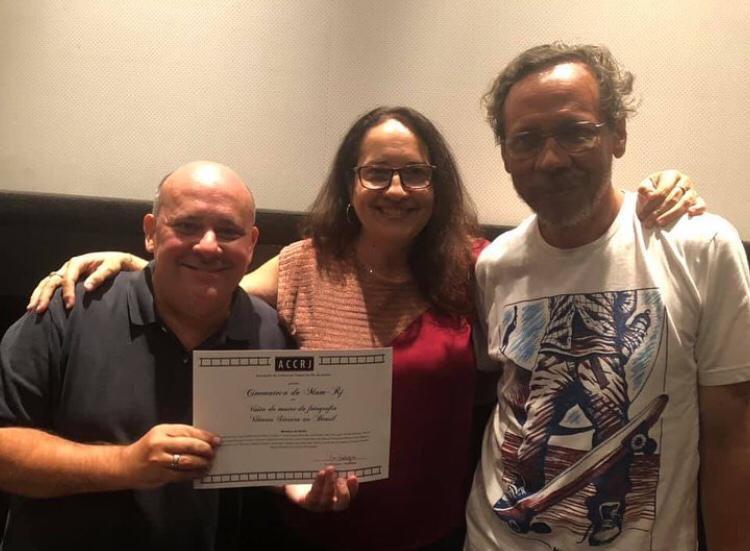 Ricardo Cota, Ana Rodrigues e Hernani Heffner