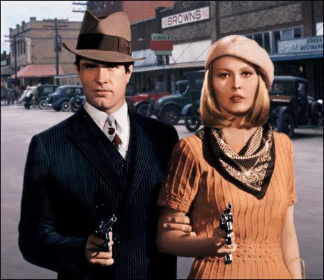 Warren Beatty e Faye Dunaway