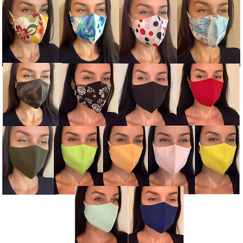 Protective Face Mask 1pc