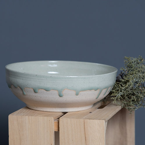 LARGE DRIPPY BOWL (ROLLING MIST)