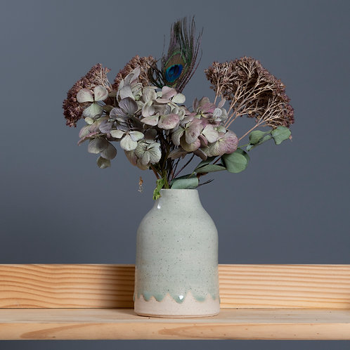 CERAMIC BOTTLE VASE (FOG)