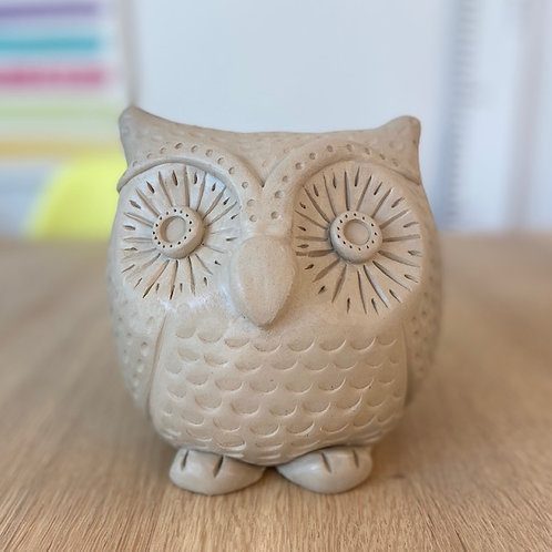 Couch Potters - Large Pinch-pot Owl - Online Tutorial