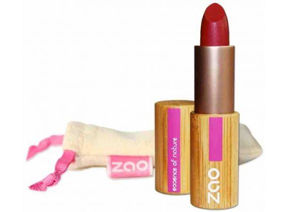 ZAO Rouge à lèvres mat 463 Rose rouge 3,5gr