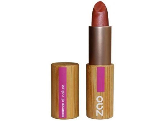 ZAO Rouge à lèvres 404 Brun rouge nacré 3,5gr