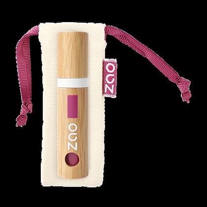 ZAO Vernis à lèvres n°038 Amarante rechargeable 5ml