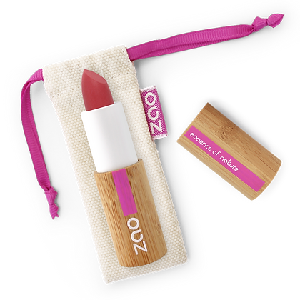 ZAO Rouge à lèvres soft touch 435 Rouge grenade 3,5gr