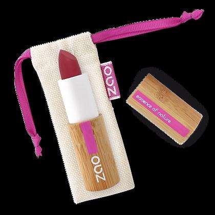 ZAO Rouge à lèvres soft touch 436 Rouge pourpre 3,5gr