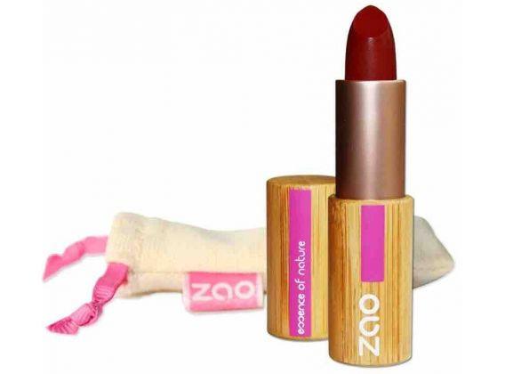 ZAO Rouge à lèvres mat 465 Rouge sombre 3,5gr