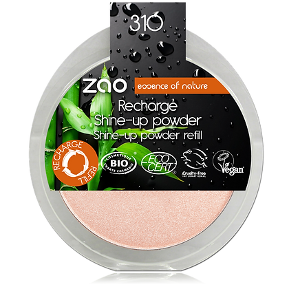 Zao recharge Shine up powder n°310