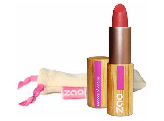 ZAO Rouge à lèvres mat 464 Rouge orangé 3,5gr