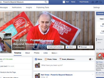 Neil's Facebook Page