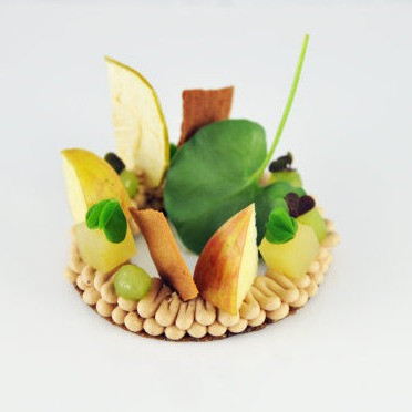 Foie Gras Apple