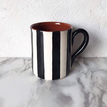 bold stripe mug - vertical