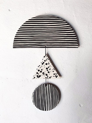 trio - triangle wall hanging