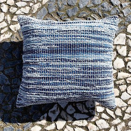 recycled denim cushion