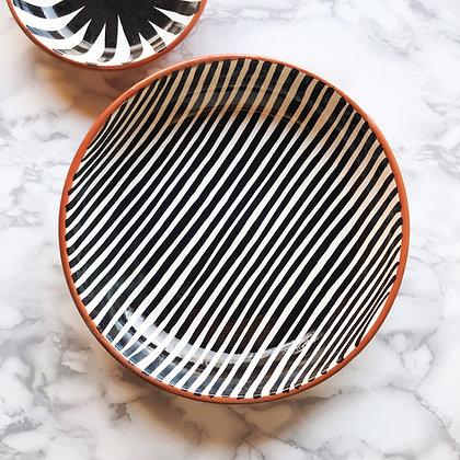 stripe bowls