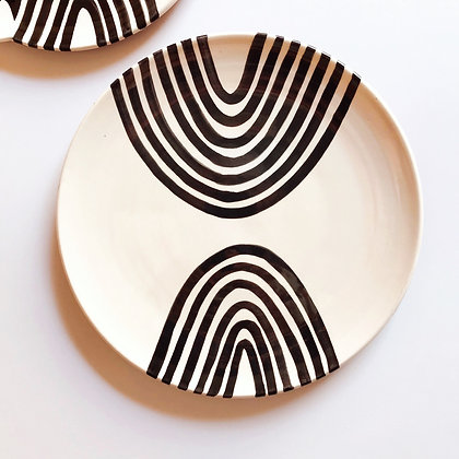 double arch plates