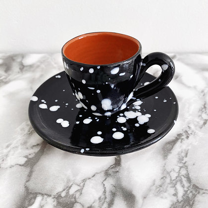 salpico rounded espresso cup + saucer