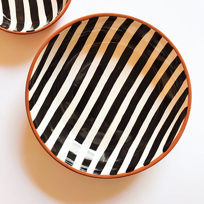 bold stripe bowls