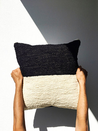 colour block cushion