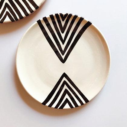 double chevron plates