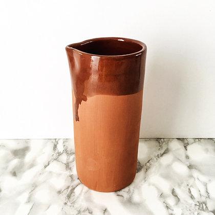 terracotta carafe