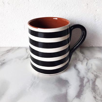 bold stripe mug - horizontal