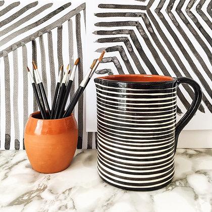 classic stripe 1L jug