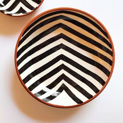 bold chevron bowls