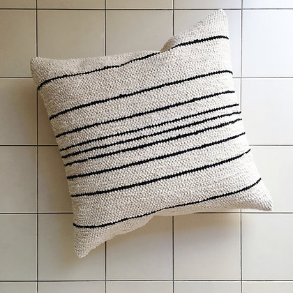 thin stripe cushion
