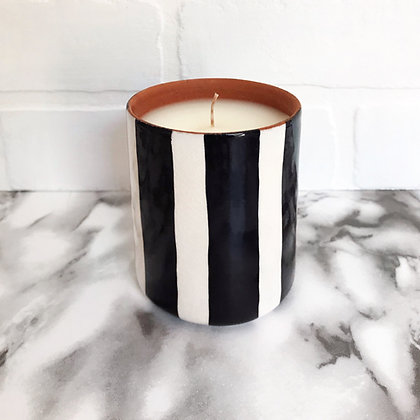 scented candle - almond blossom