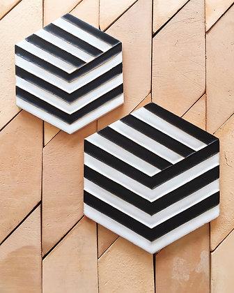 large hex tile
