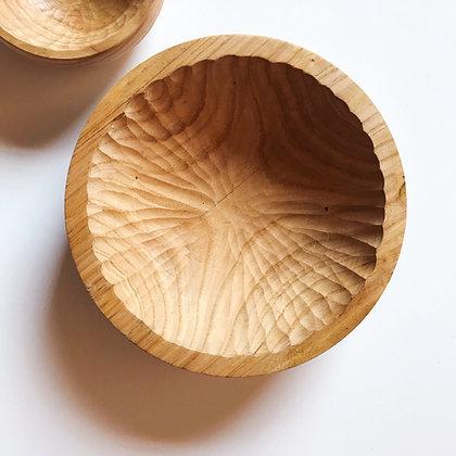 medium carved bowl