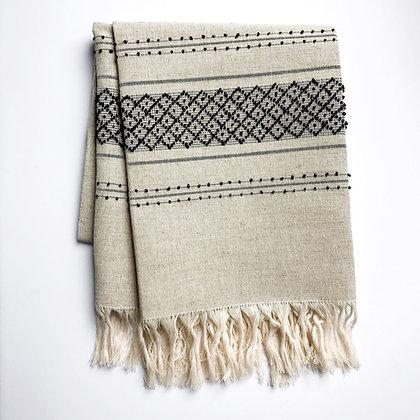 linen towel - natural
