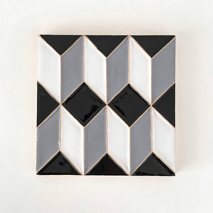 graphic pattern tile