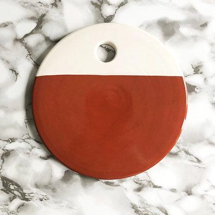 dipped circle board