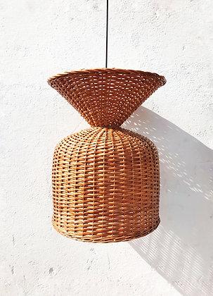pendant cane lampshade - mix