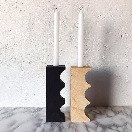 reverse bump candleholder